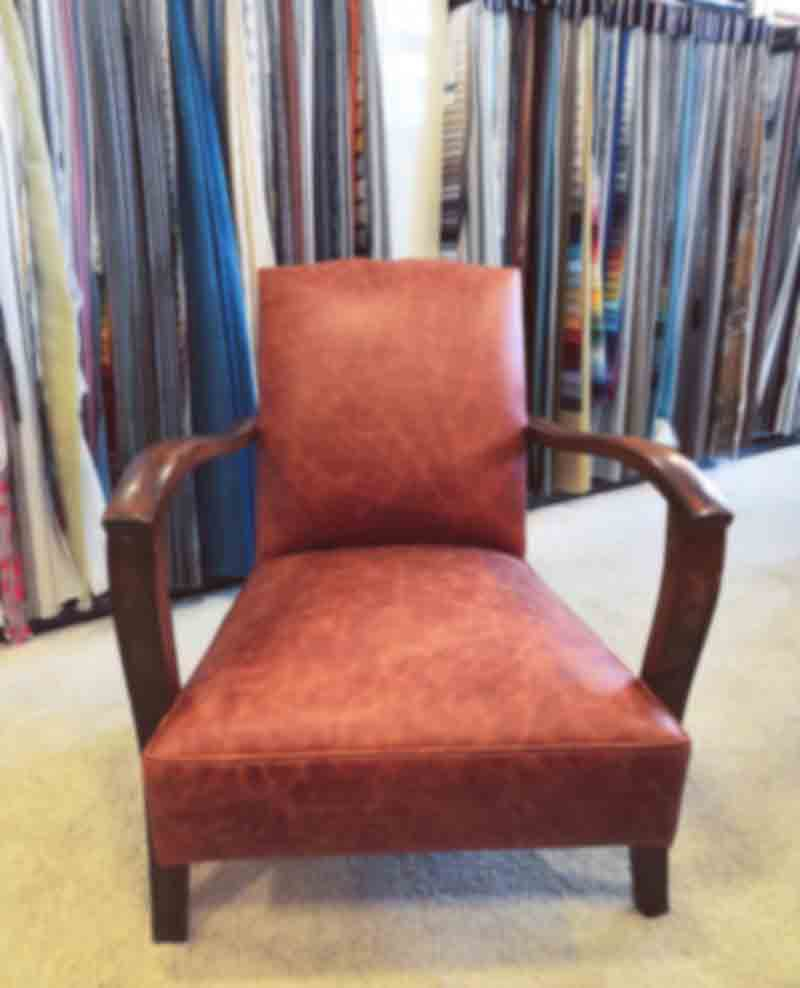 fauteuil sofic cuir tapissier montpellier